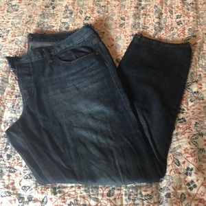 New without tags Loft distressed boyfriend jeans